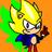 Avatar de Sonic multicolor