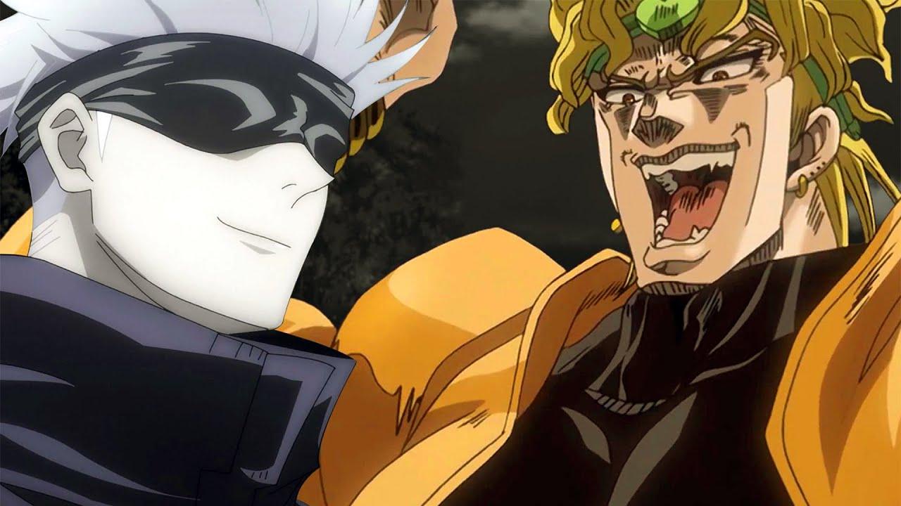 DIO vs Satoru Gojo | JoJo X Jujutsu Kaisen