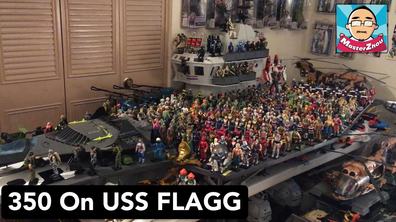 350 Gi Joe on USS Flagg ( Issue SP)