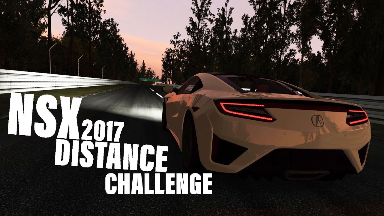 2017 Acura NSX Distance Challenge (Top 2 Options)