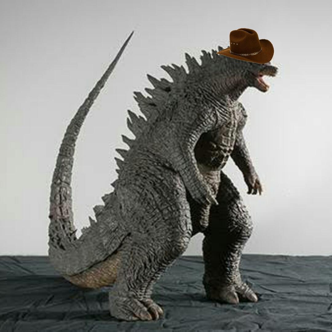 Ya quiero ver godzilla el rey del rancho va estar chida