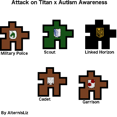 It's Autism Awareness month so I made fan art.