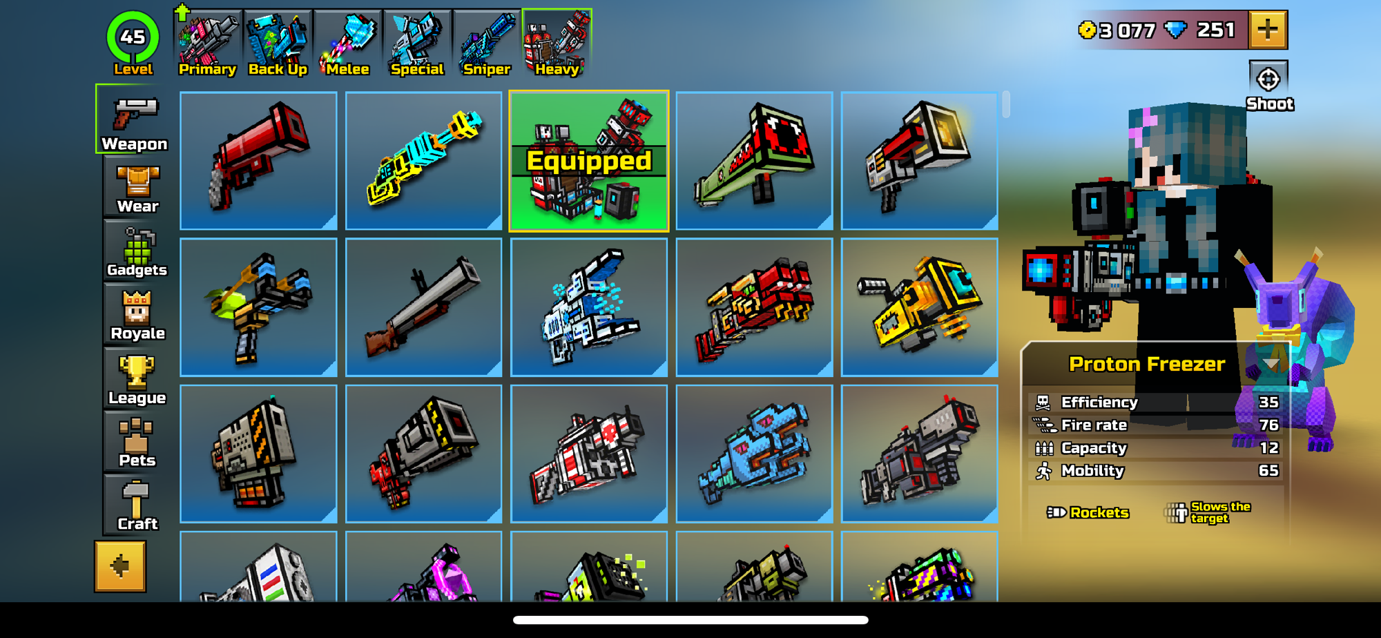 I have the new weapons everyone, add me so we can collect data. My ID: 154523299