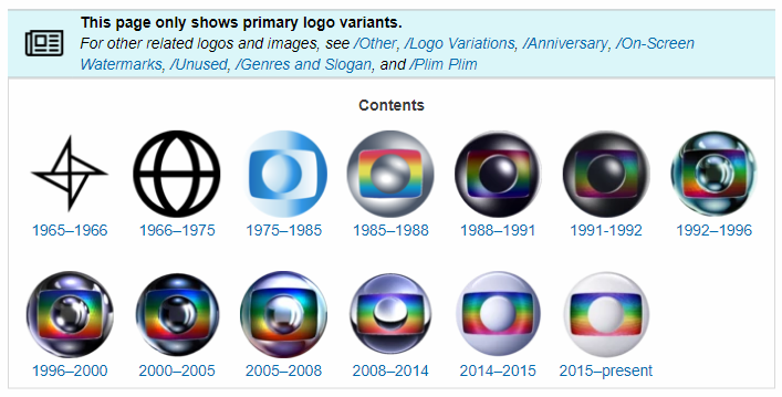 """New version of """"Primary Logos"""" template"""