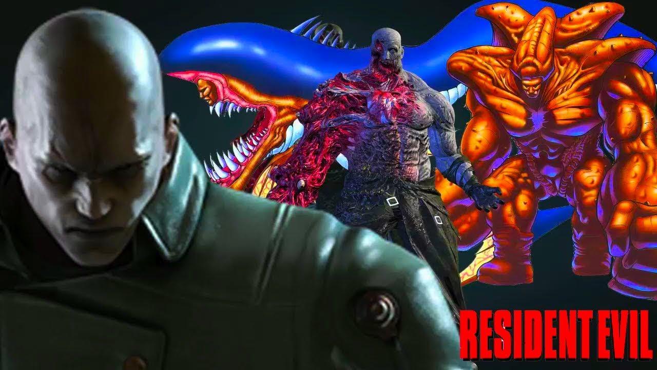 Resident Evil - Ranking Every Mr. X [T-00] Tyrant Design