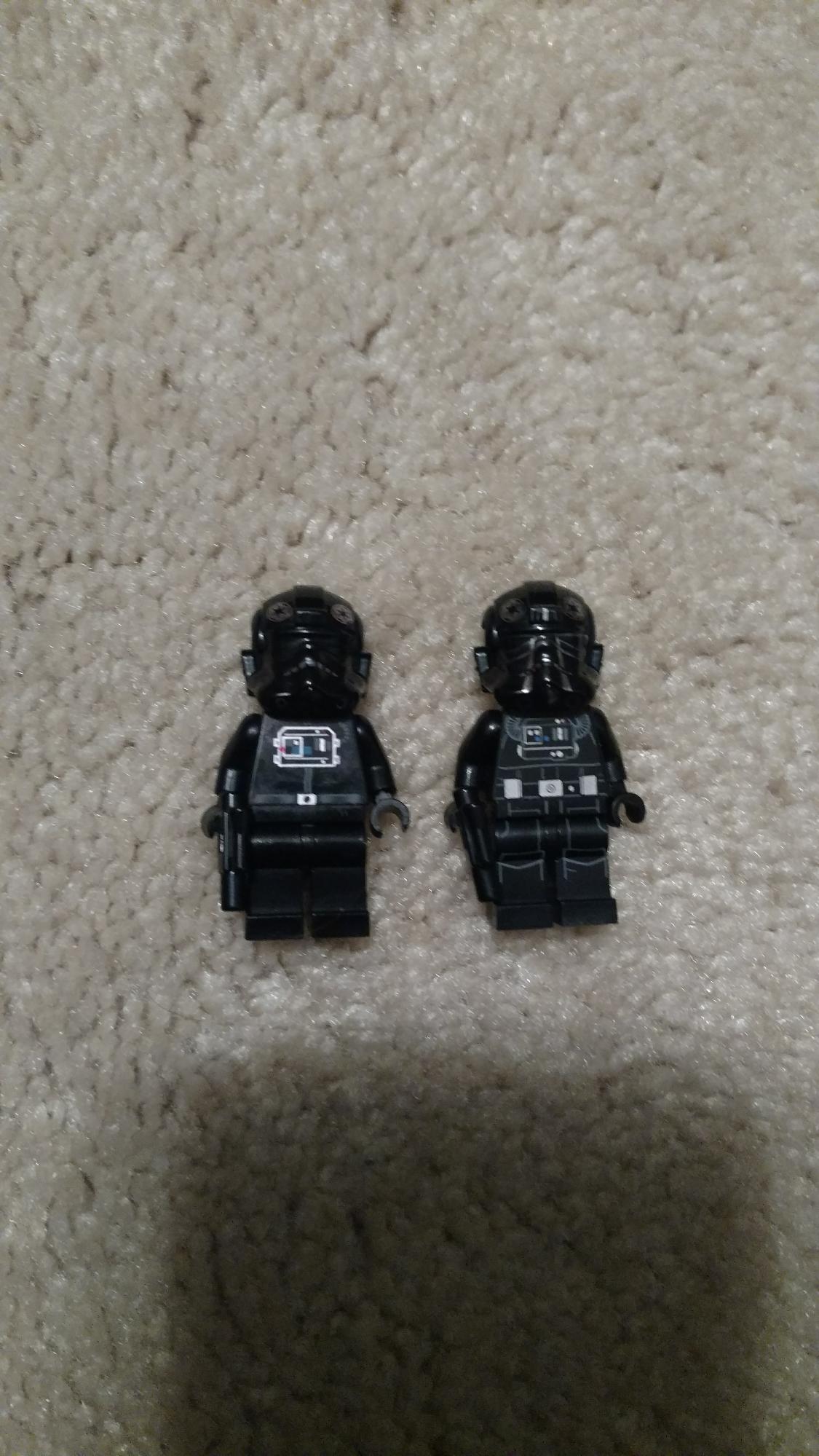 Evolution of the TIE Pilot (LEGO Edition)