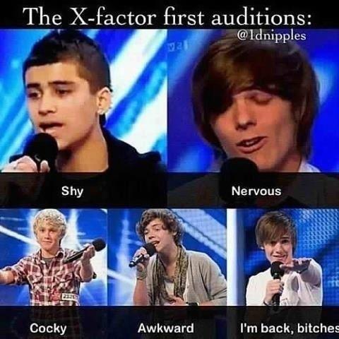 1d's first X- factor auditions      FANDOM