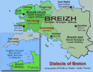 Dialects of breton