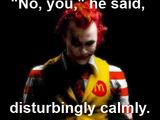 Disturbingly Calmly