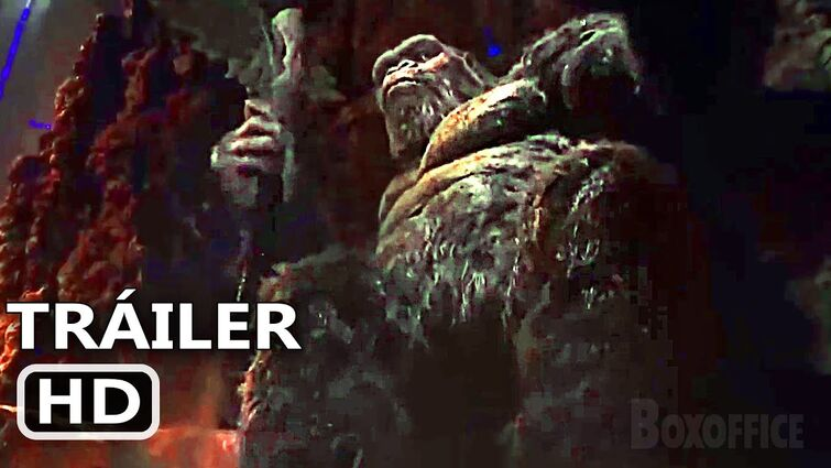 "GODZILLA VS KONG ""El Trono de King Kong"" Tráiler (Novo, 2021)"