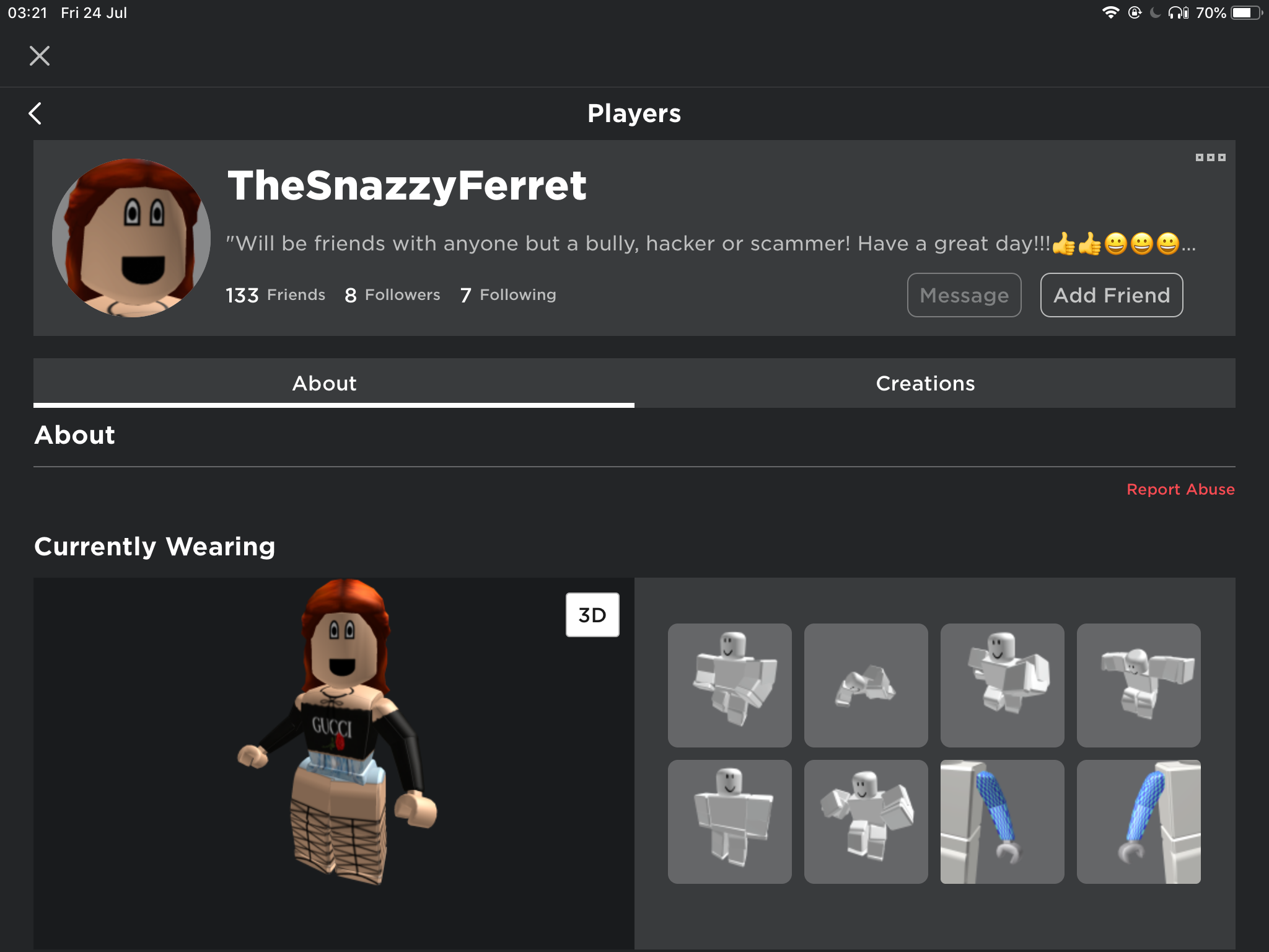 Roblox My Old Account I Found My Old Roblox Account O O Fandom