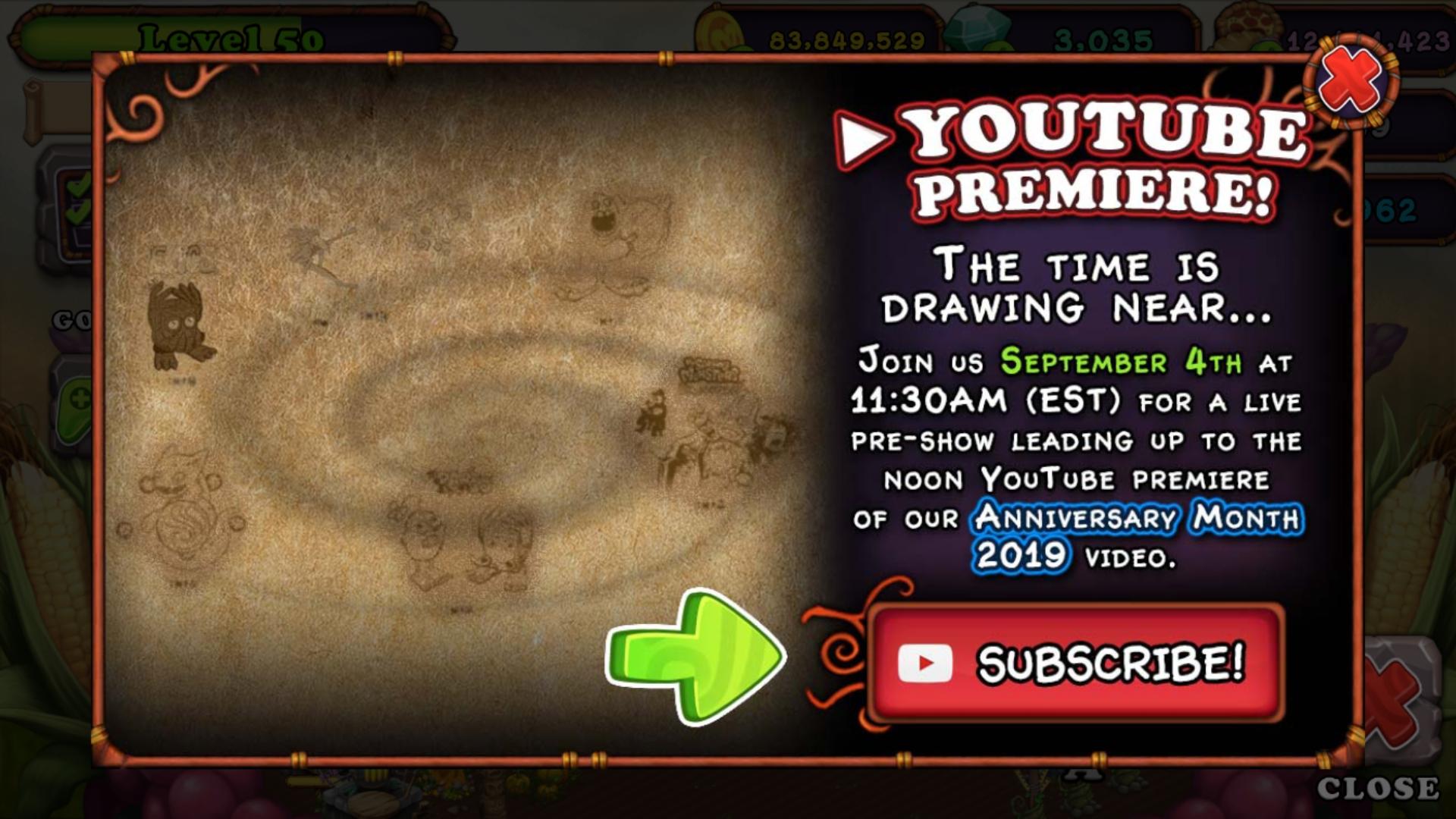 Youtube Premiere Tomorrow!