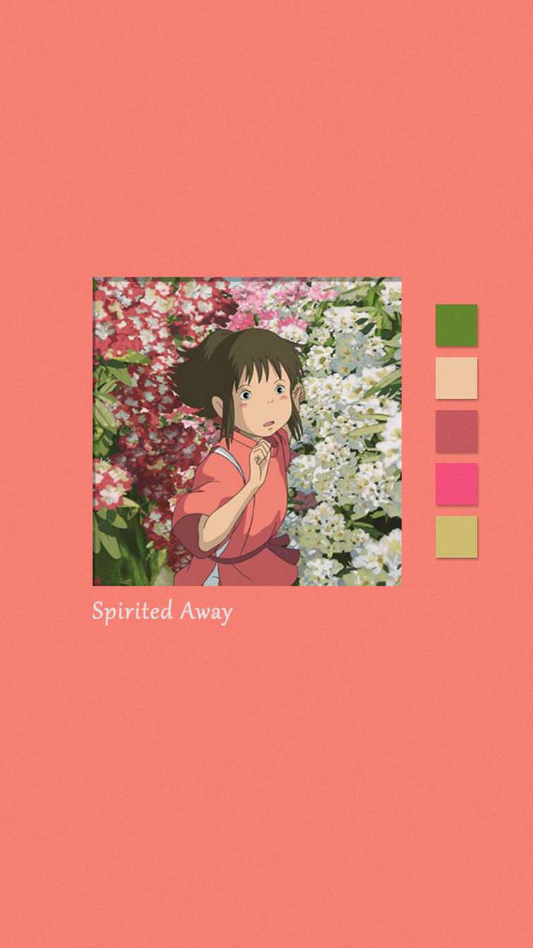 spirited away wallpaper(^∇^)made by me