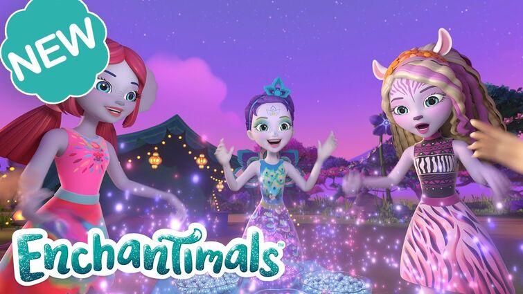 Enchantimals Sunny Savanna Episode 8 🌈  THE RAINBOW NECKLACE 💎 | @Enchantimals