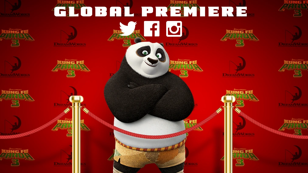 Kung Fu Panda 3 Global Premiere - Jan. 16, 2016