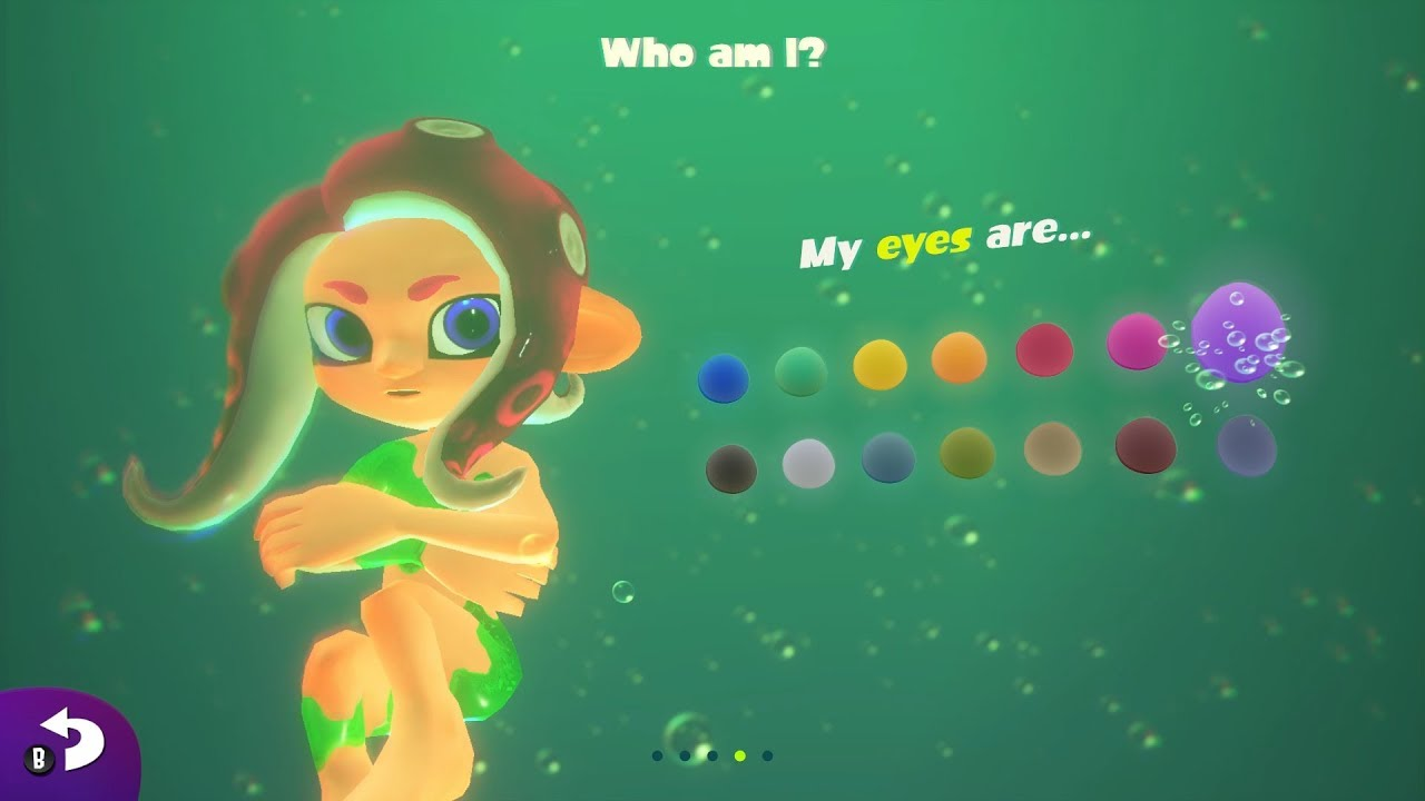 Agent 8 eye color