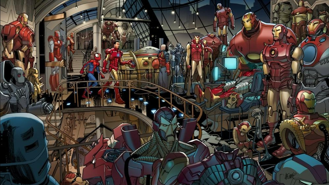 What Iron Man Suit Would You Choose?