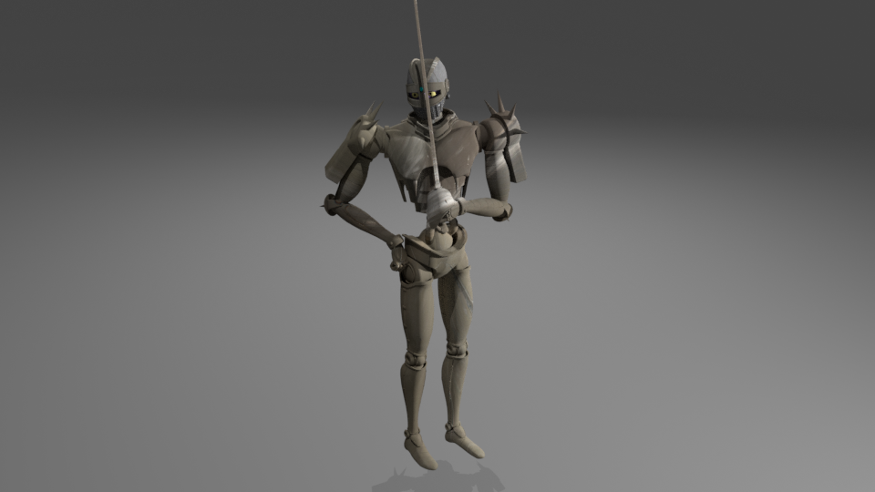 I made a 3D model of Silver Chariots in Blender and about to finish with Shear Heart attack.