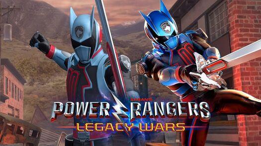 Shadow Ranger Gameplay in Power Rangers Legacy Wars | Power Rangers S.P.D. | Superheroes Game