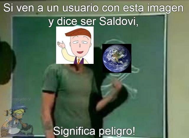 Cuidado con Saldovi (meme)