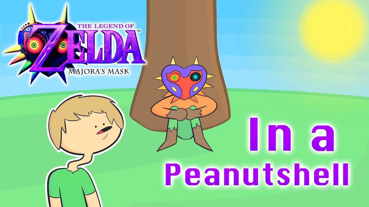 The Legend of Zelda: Majora's Mask In a Peanutshell