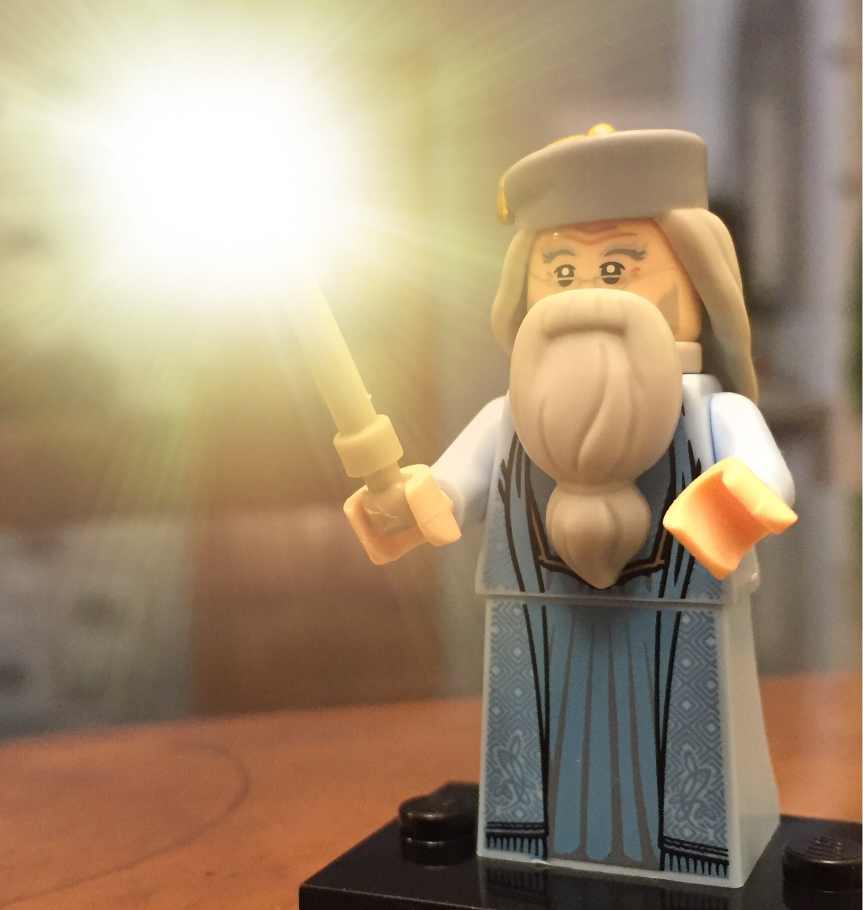 Anyone else got a new LEGO Harry Potter minifigure? I got Dumbledore.