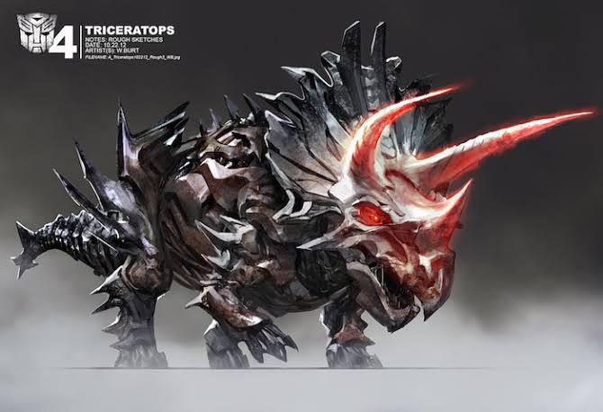 The triceratops name is Slug.