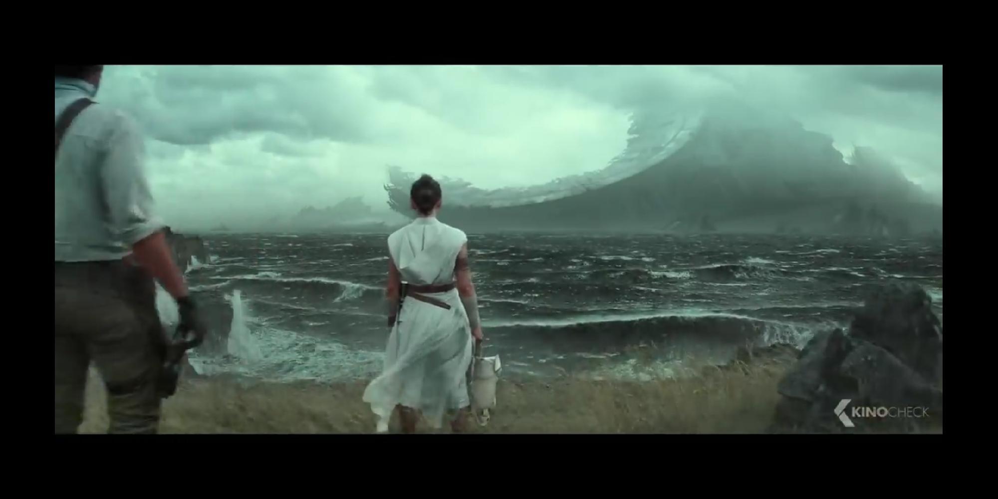 Star Wars 9 : Todesstern und Palpatines Lache, Theorie zu der Szene