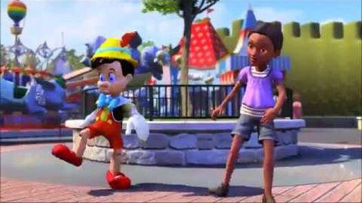 Disneyland Adventures - Pinocchio Meeting: Part 1 (Xbox One)
