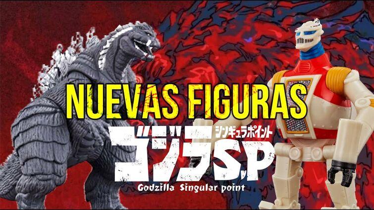 Nuevas Figuras de Godzilla Singular Point | Movie Monster Series de Bandai