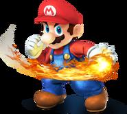 Mario SSB4 Artwork