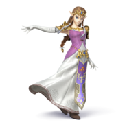 SSB4 - Zelda Artwork