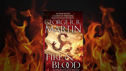 Fantascy (Random House) publicará el 20 de noviembre Fuego y Sangre en España