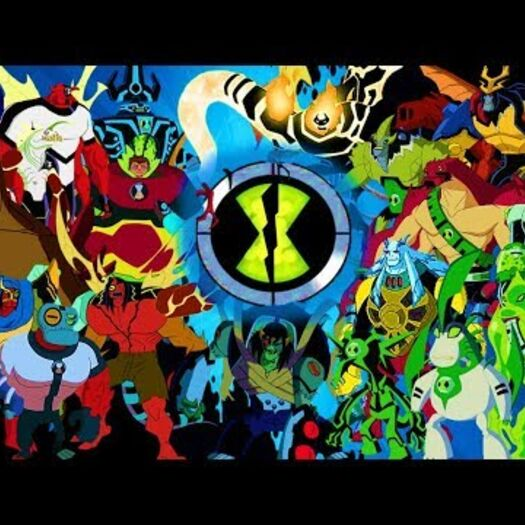 Ben 10 - All Fusion Alien Transformations