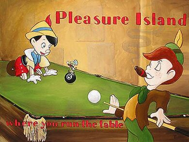 Pinocchio Pleasure Island