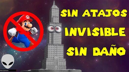 RETO: CARA MÁS OCULTA ¡¡INVISIBLE!! ¡¡SIN DAÑO!! - Super Mario Odyssey