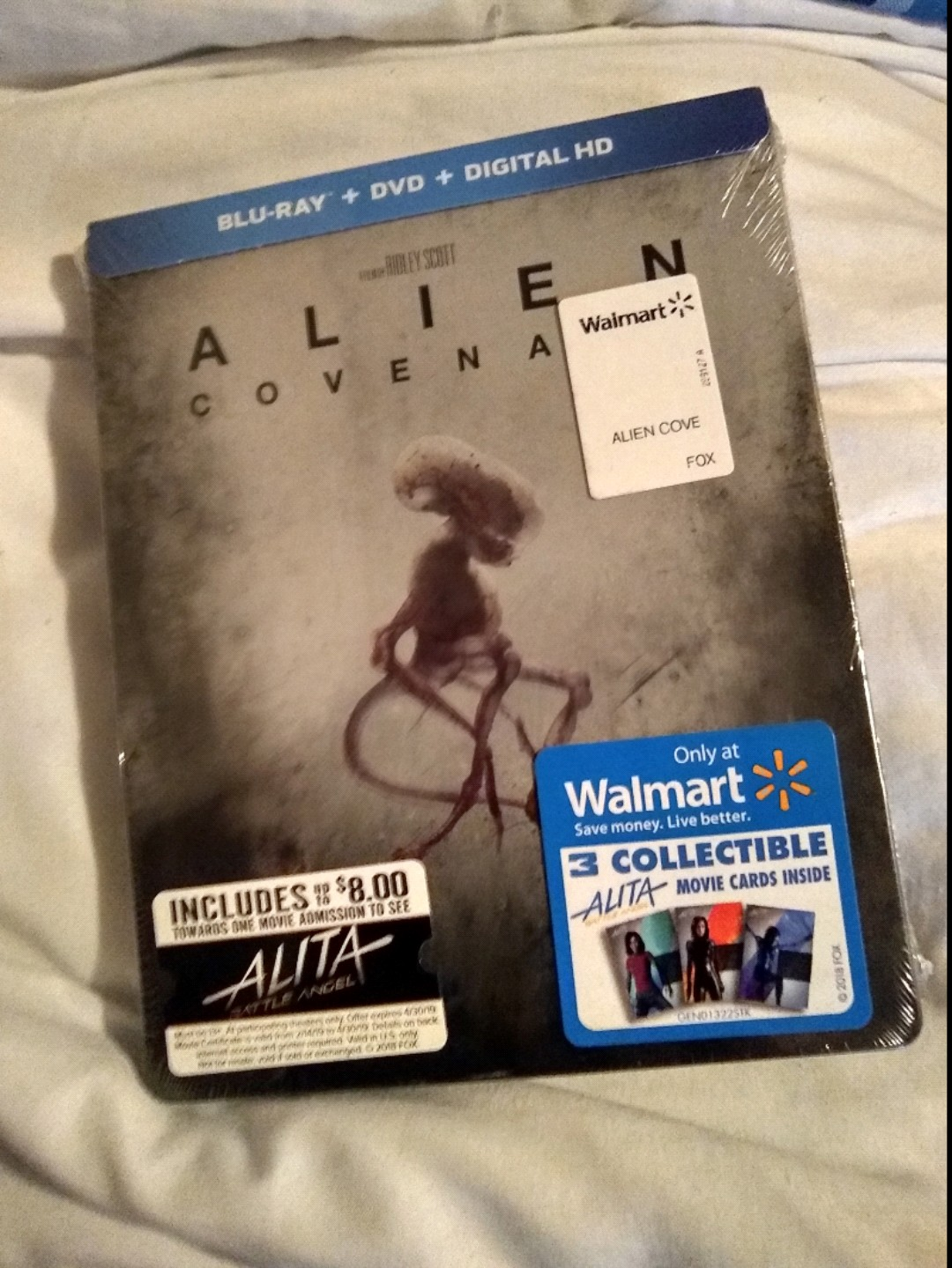 I Got Alien Covenant At Wal-Mart Today Now I Finally Finished My Complete Alien Movies Collection