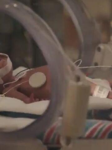 Baby Jack in NICU after birth.