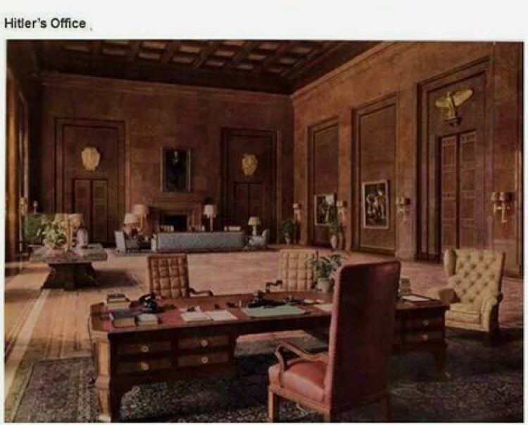 Am I the only one who sees the similarities in Hitler's Office to the KGB office cuz like....