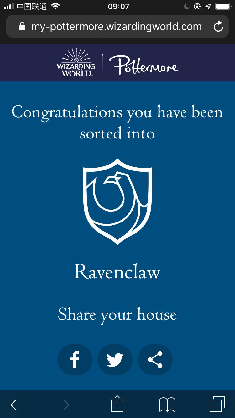 Hello! Ravenclaw!