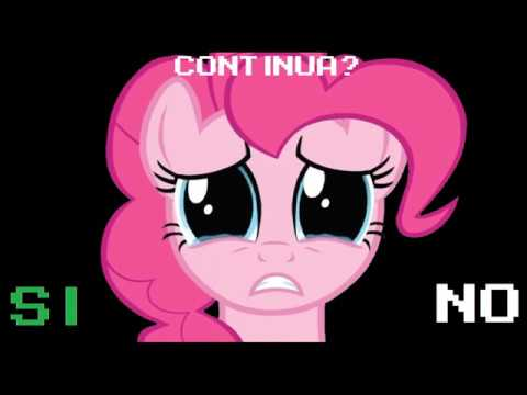 My Little Pony: Pinkie Pie's Search for Smiles (Italian Sega Genesis Bootleg Continue + Game Over)