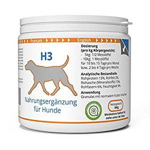 ww7 H3 Natürliche Haut, Fell & Schuppen Formel für Hunde - 300g: Amazon.de: Haustier