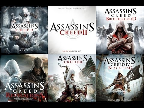All Assassin's Creed Main Themes (2007-2013)