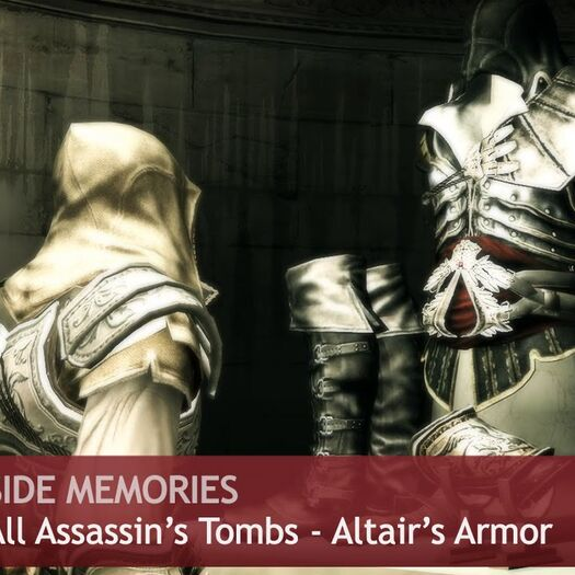 Assassin's Creed 2 - Side Memories - All Assassin's Tombs [Altair's Armor]