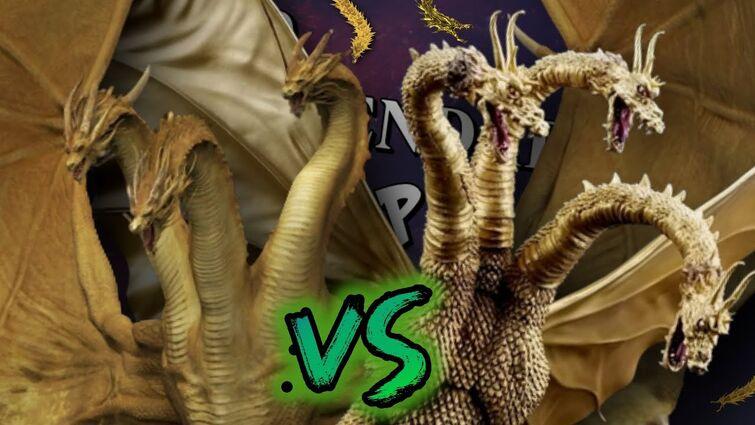 KING GHIDORAH VS KING GHIDORAH RAP || Duelos Legendarios de Rap de la Historia || Zigred(Prod.K KAY)