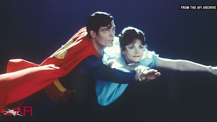 Christopher Reeve on Filming the Flying Scenes in Superman with Margot Kidder