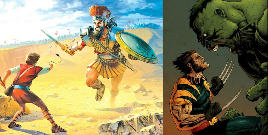 """The """"David & Goliath"""" Characters of Comics! What is their Importance?!"""