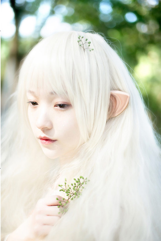 An Elf Fairy in forest