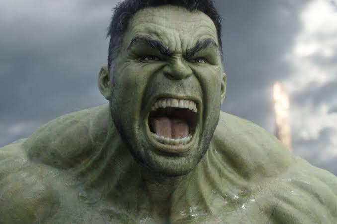 A slight irregularity about the Hulk