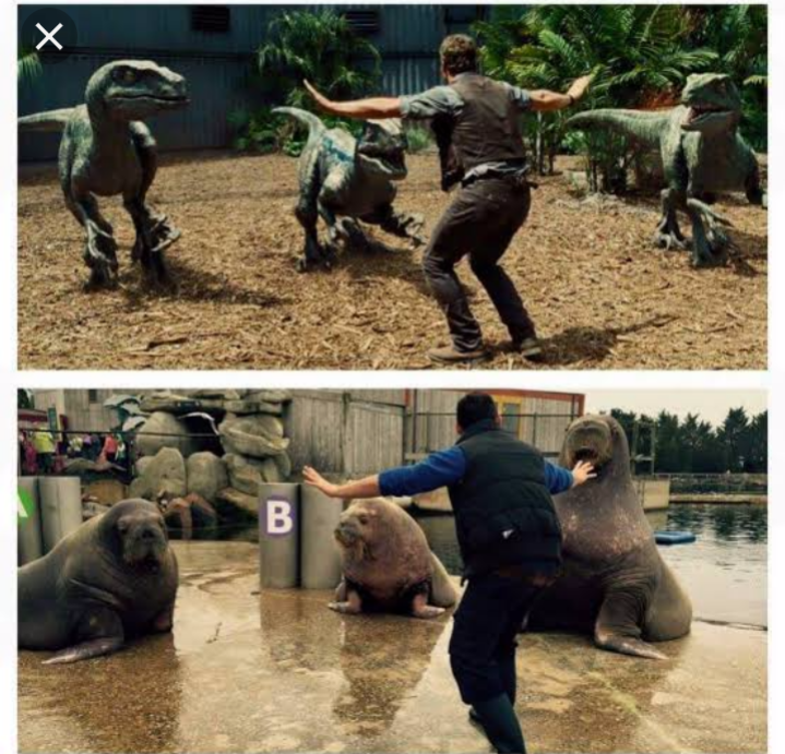 Zookeeper is recreating jurrassic world 1